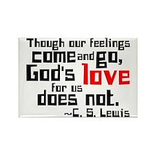 God's Love for Us Rectangle Magnet