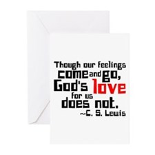 God's Love for Us Greeting Cards (Pk of 20)