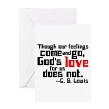 God's Love for Us Greeting Card