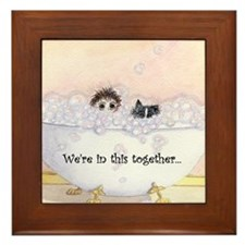 We're in this together 2 Framed Tile