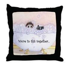 We're in this together 2 Throw Pillow