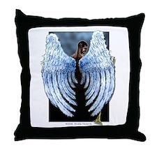 Saint Gabriel the Archangel Throw Pillow