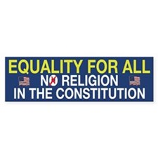 Equality For All Bumper Sticker (10 pk)