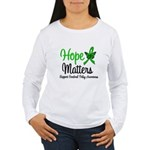 Cerebral Palsy HopeMatters Women's Long Sleeve T-S