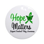 Cerebral Palsy HopeMatters Ornament (Round)