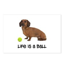 Dachshund Life Postcards (Package of 8)