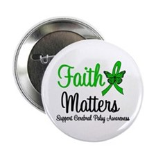 "Cerebral Palsy FaithMatters 2.25"" Button (10 pack)"