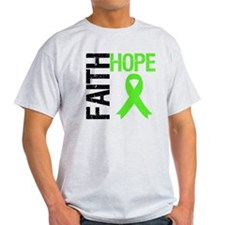 Lymphoma Faith Hope T-Shirt