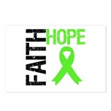 Lymphoma Faith Hope Postcards (Package of 8)