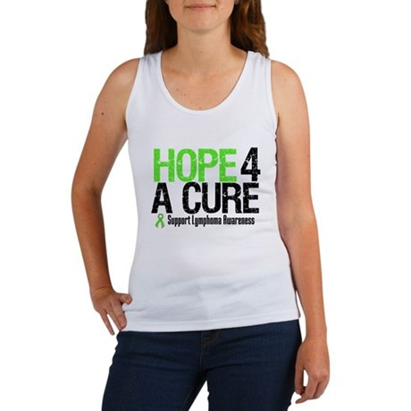 Lymphoma Hope 4 a Cure Women's Tank Top