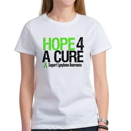 Lymphoma Hope 4 a Cure Women's T-Shirt