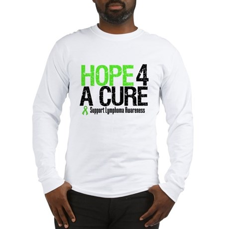 Lymphoma Hope 4 a Cure Long Sleeve T-Shirt