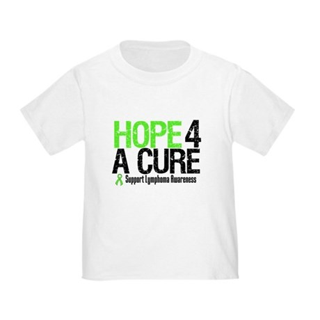 Lymphoma Hope 4 a Cure Toddler T-Shirt