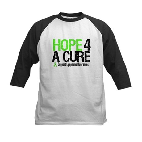 Lymphoma Hope 4 a Cure Kids Baseball Jersey