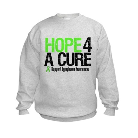 Lymphoma Hope 4 a Cure Kids Sweatshirt