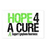 Lymphoma Hope 4 a Cure Postcards (Package of 8)