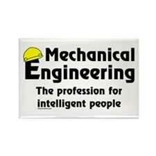 Smart Mech. Engineer Rectangle Magnet (100 pack)