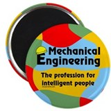 Smart Mechanical Engineer Magnet