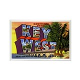 Key West Florida Greetings Rectangle Magnet