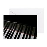 Piano Keyboard Greeting Cards (Pk of 20)