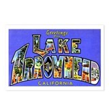 Lake Arrowhead California Greetings Postcards (Pac