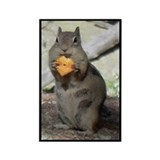 Chipmunk Eating a Cheez-it Magnet