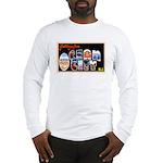Ocean City New Jersey (Front) Long Sleeve T-Shirt
