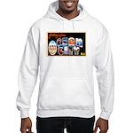 Ocean City New Jersey (Front) Hooded Sweatshirt