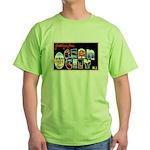 Ocean City New Jersey (Front) Green T-Shirt