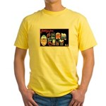 Ocean City New Jersey (Front) Yellow T-Shirt