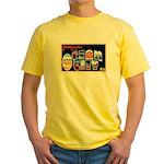 Ocean City New Jersey Yellow T-Shirt