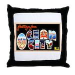 Ocean City New Jersey Throw Pillow