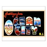Ocean City New Jersey Small Poster