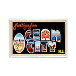 Ocean City New Jersey Rectangle Magnet