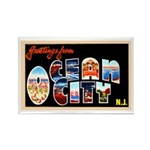 Ocean City New Jersey Rectangle Magnet (10 pack)