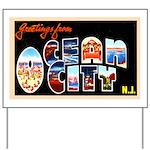 Ocean City New Jersey Yard Sign