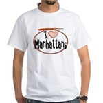 Manhattan White T-Shirt