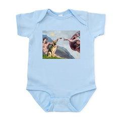 Creation / German Shepherd #2 Infant Bodysuit