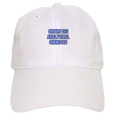 """Chicks Dig Analyt. Chemists"" Baseball Cap"