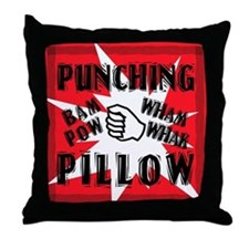 PUNCHING PILLOW Throw Pillow