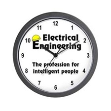 Smart Electrical Engineer Wall Clock