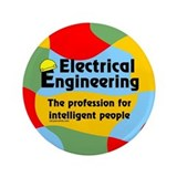 "Smart Electrical Engineer 3.5"" Button"