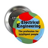 "Smart Electrical Engineer 2.25"" Button"