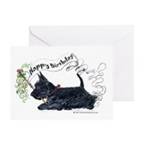Special Inscription Scottie Birthday Card