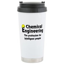 Smart Chemical Engineer Ceramic Travel Mug