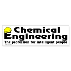 Smart Chemical Engineer Bumper Sticker (10 pk)