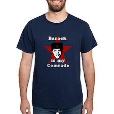 Barack is my Comrade T-Shirt