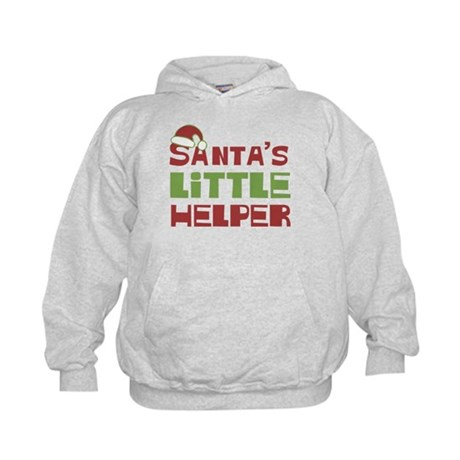 Santa's Little Helper Kids Hoodie