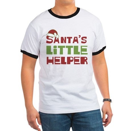 Santa's Little Helper Ringer T