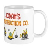 Jonah's Construction Tractors Mug
